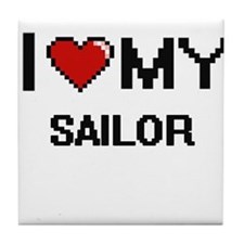I love my Sailor Tile Coaster