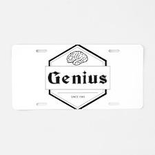 genius Aluminum License Plate