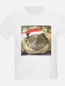 Santa Snapping Turtle T-Shirt
