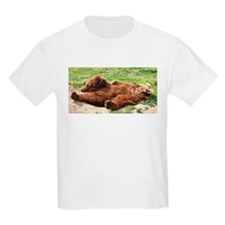 Sleeping Brown Bear T-Shirt