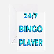 24/7 Bingo Greeting Card