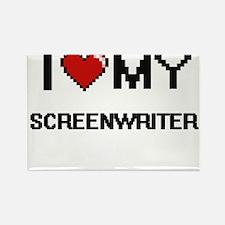 I love my Screenwriter Magnets