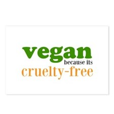 Cruelty Free Postcards (Package of 8)