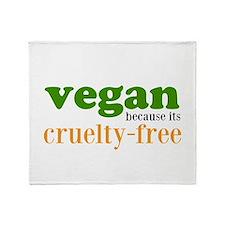 Cruelty Free Throw Blanket