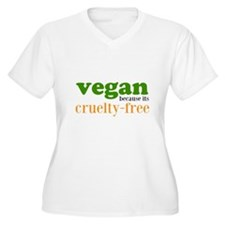 Cruelty Free Plus Size T-Shirt