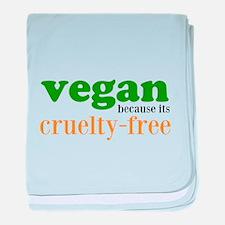 Cruelty Free baby blanket