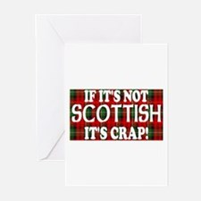 If it's not Scottish, It's Cr Greeting Cards (Pk o