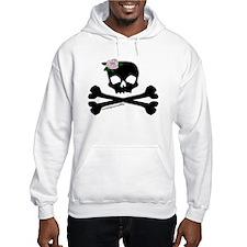 Rose Skull (blk) Hoodie