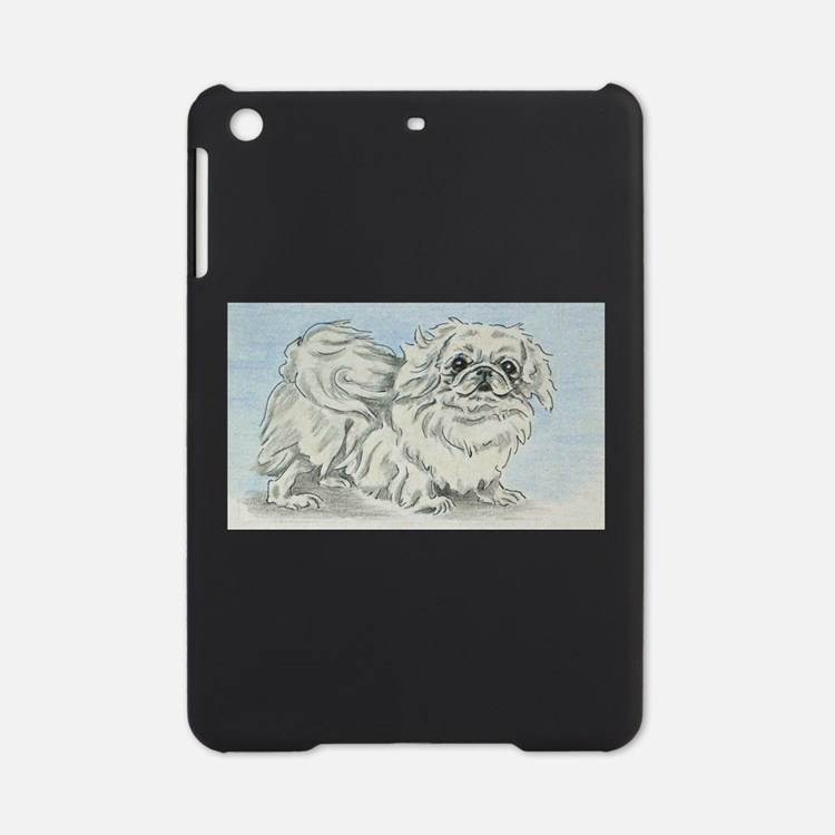 White Pekingese iPad Mini Case