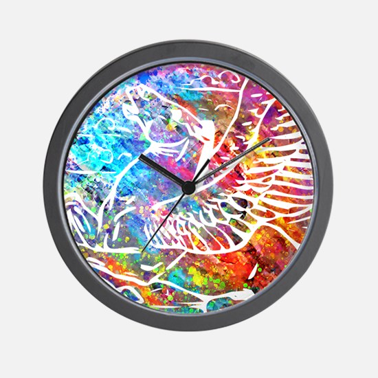 Pegasus Galaxy Coin Wall Clock