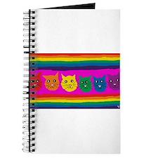 gay rainbow cats art PAINT ART Journal