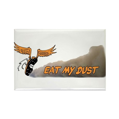 Eat My Dust Rectangle Magnet (10 pack)