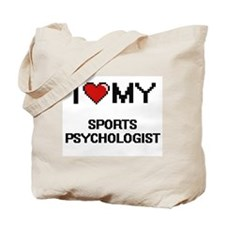 Cute Sports psychologists Tote Bag