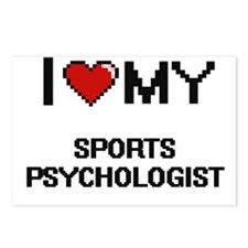 Funny Sports psychology Postcards (Package of 8)