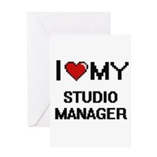 I love my Studio Manager Greeting Cards