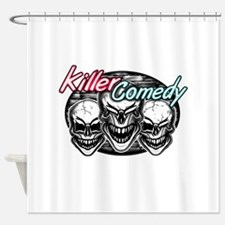 Laughing Skulls: Killer Comedy Shower Curtain
