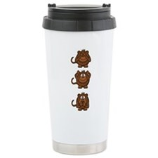 Hear No Evil, Speak No Travel Mug