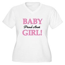 Baby Girl Proud Aunt T-Shirt