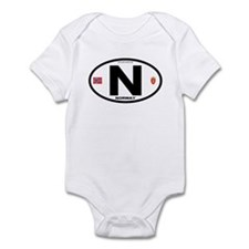 Norway Euro-style Code Infant Bodysuit