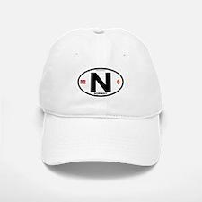 Norway Euro-style Code Baseball Baseball Cap