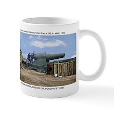 Rodman Civil War Cannon Mugs