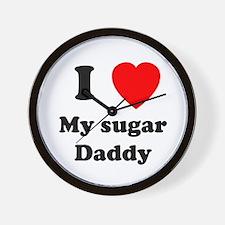 My Sugar Daddy Wall Clock