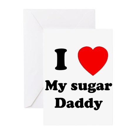 My Sugar Daddy Greeting Cards (Pk of 10)