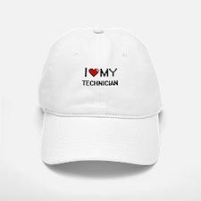 I love my Technician Baseball Baseball Cap