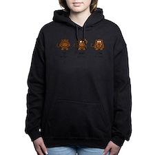 Three Wise Monkeys Women's Hooded Sweatshirt
