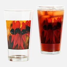 Sturts Desert Pea Drinking Glass