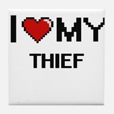 I love my Thief Tile Coaster