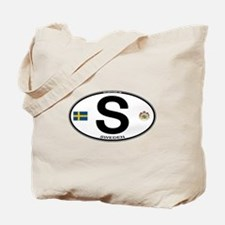 Sweden Euro-style Code Tote Bag