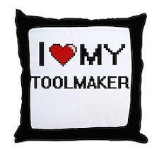 I love my Toolmaker Throw Pillow