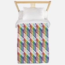 Colorful Crayons Twin Duvet