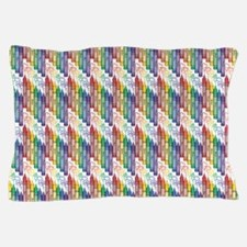 Colorful Crayons Pillow Case