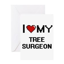 I love my Tree Surgeon Greeting Cards