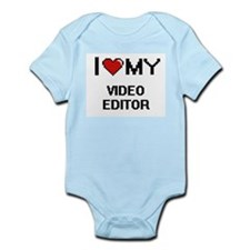 I love my Video Editor Body Suit