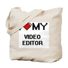 I love my Video Editor Tote Bag