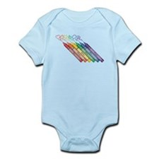 Colorful Crayons Body Suit
