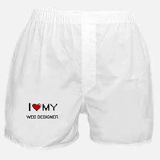 I love my Web Designer Boxer Shorts