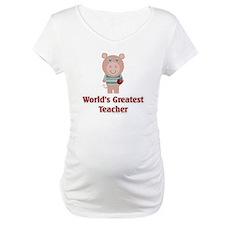 Pig: Greatest Teacher Shirt