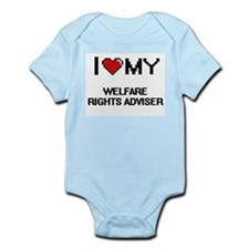 I love my Welfare Rights Adviser Body Suit