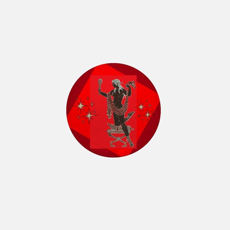 Aphrodite Mini Button