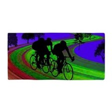 Cute Bicycles Beach Towel