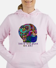 ART BRAIN Women's Hooded Sweatshirt