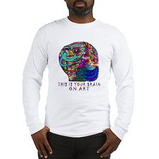 ART BRAIN Long Sleeve T-Shirt