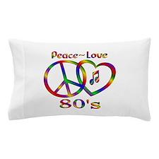 Peace Love 80s Pillow Case