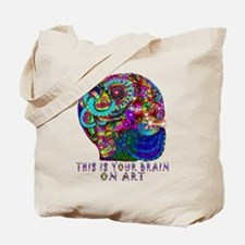 ART BRAIN Tote Bag