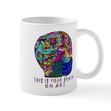 ART BRAIN Mugs