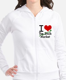 Stock Market Fitted Hoodie